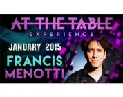 Review: At the Table Live Lecture – Francis Menotti