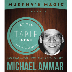 Review: At the Table Live Lecture – Michael Ammar