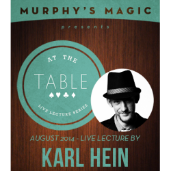 Review: At the Table Live Lecture – Karl Hein