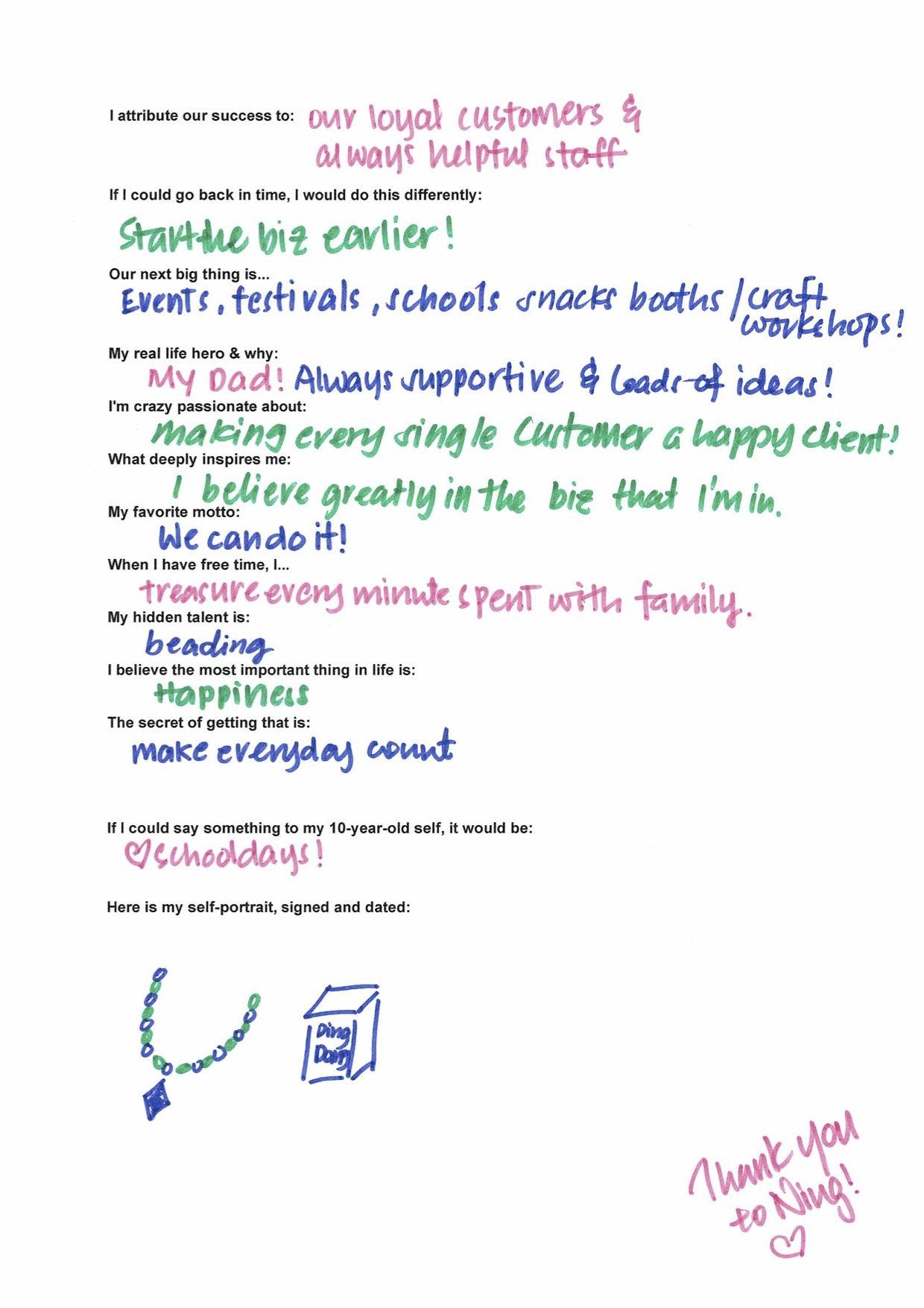 Scribble Project - Ann Lim