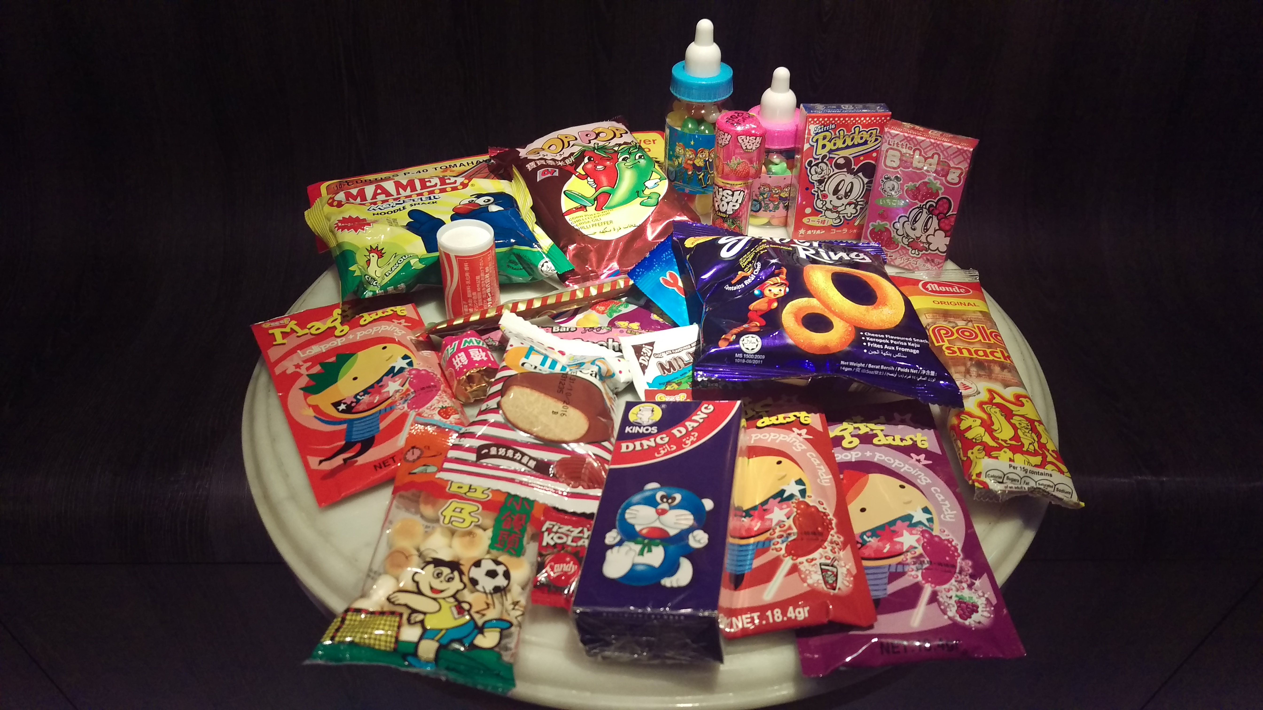 Retro snacks from our childhood... yay hey!