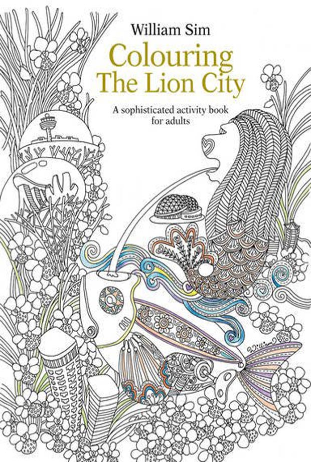 Review Colouring The Lion City By William Sim