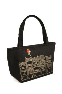 Ang Ku Kueh Girl Shophouse Mini Tote (SQ)