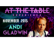 Review: At the Table Live Lecture Andi Gladwin November 18th 2015 video