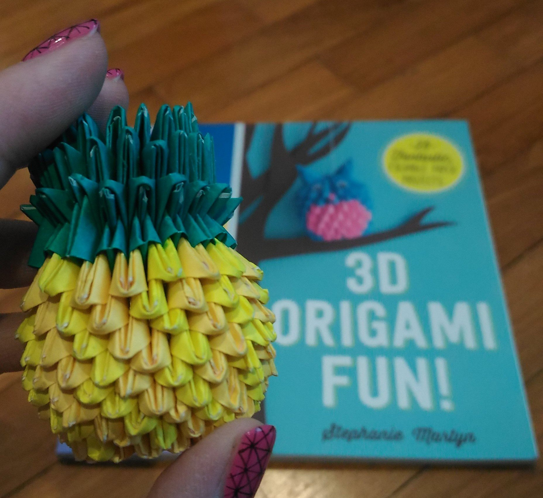 Review 3D Origami Fun 25 Fantastic Foldable Paper Projects By Stephanie Martyn