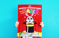 Review: Colossal Magic Coloring Book by Danny Orleans