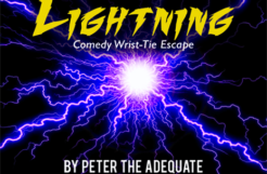 Review: Lightning by Peter the Adequate presented by Cody Fisher