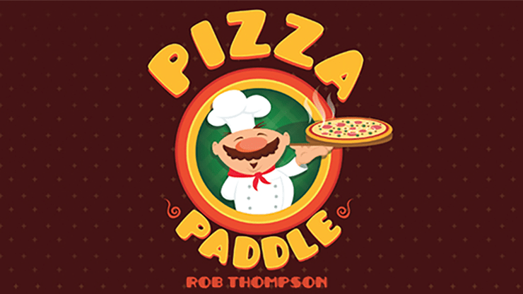 Pizza Paddle (Gimmicks and Online Instructions) by Rob Thompson