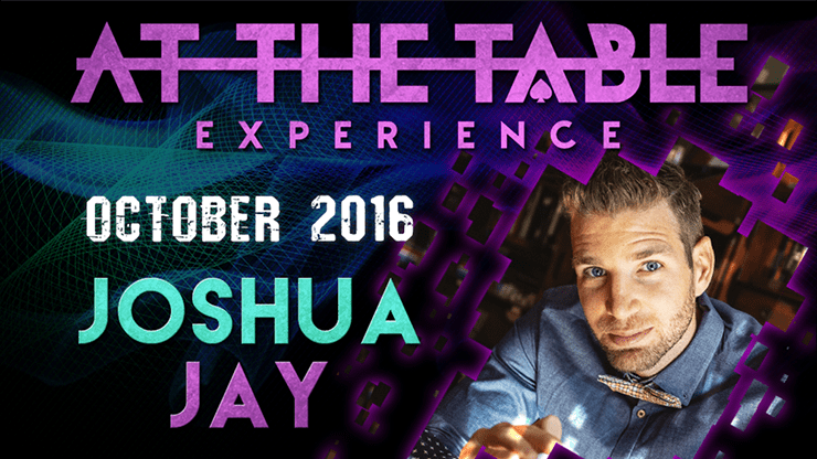 Review: At The Table Live Lecture - Joshua Jay October 19th 2016