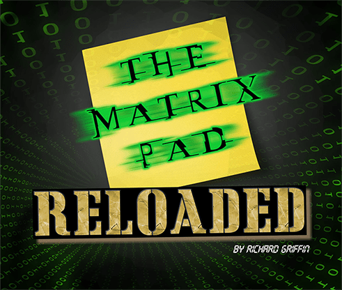 The Matrix Pad Reloaded by Richard Griffin