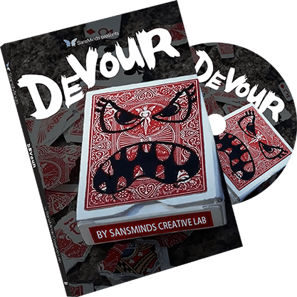 Devour (DVD and Gimmick) by SansMinds Creative Lab