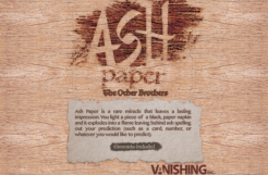Review: Ash Paper by the Other Brothers