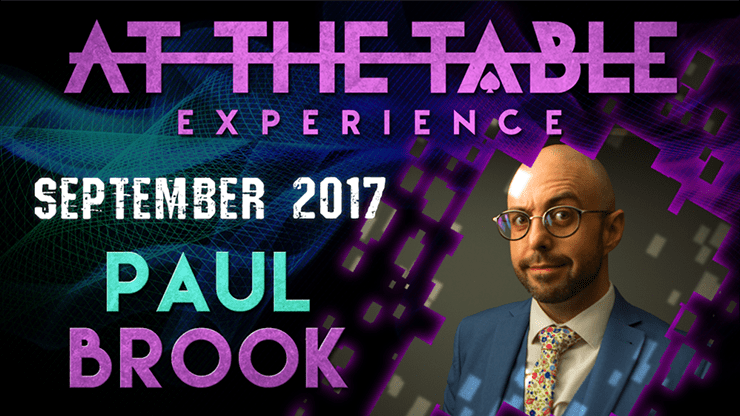 At The Table Live Lecture by Paul Brook